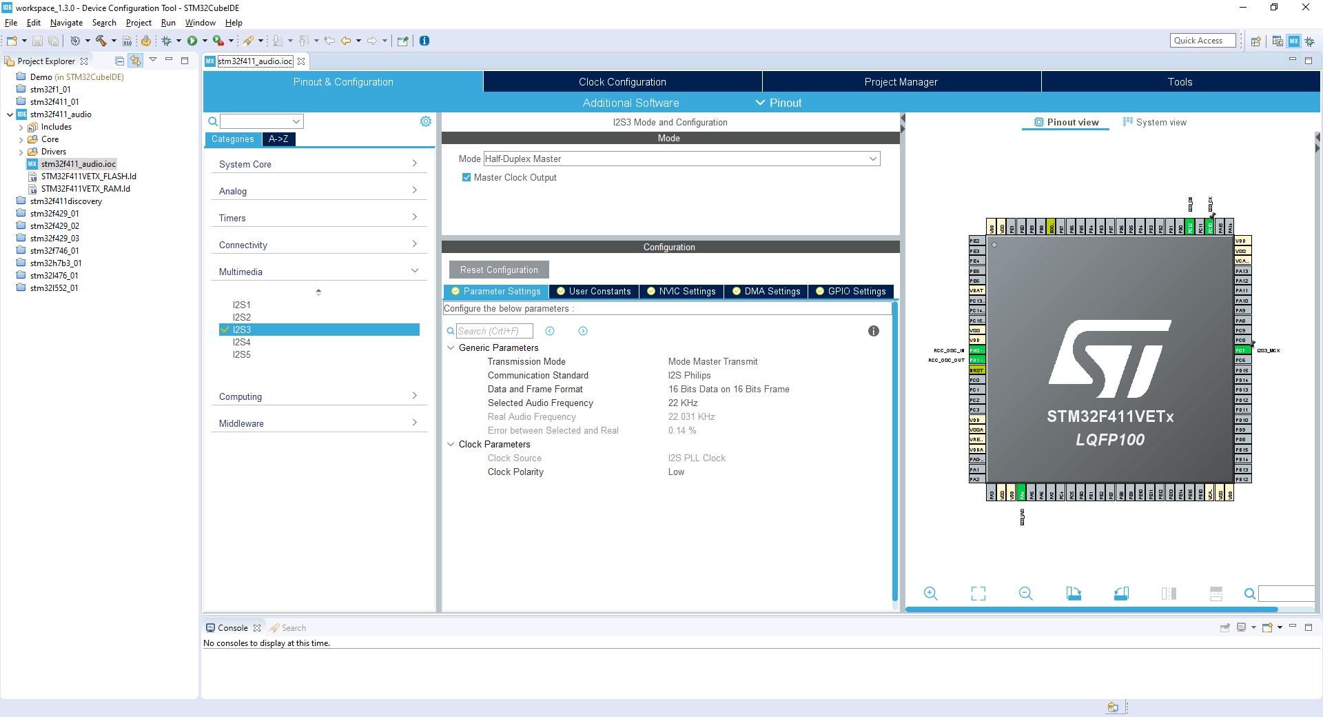 Odtwarzanie dźwięku na STM32 cz. 2