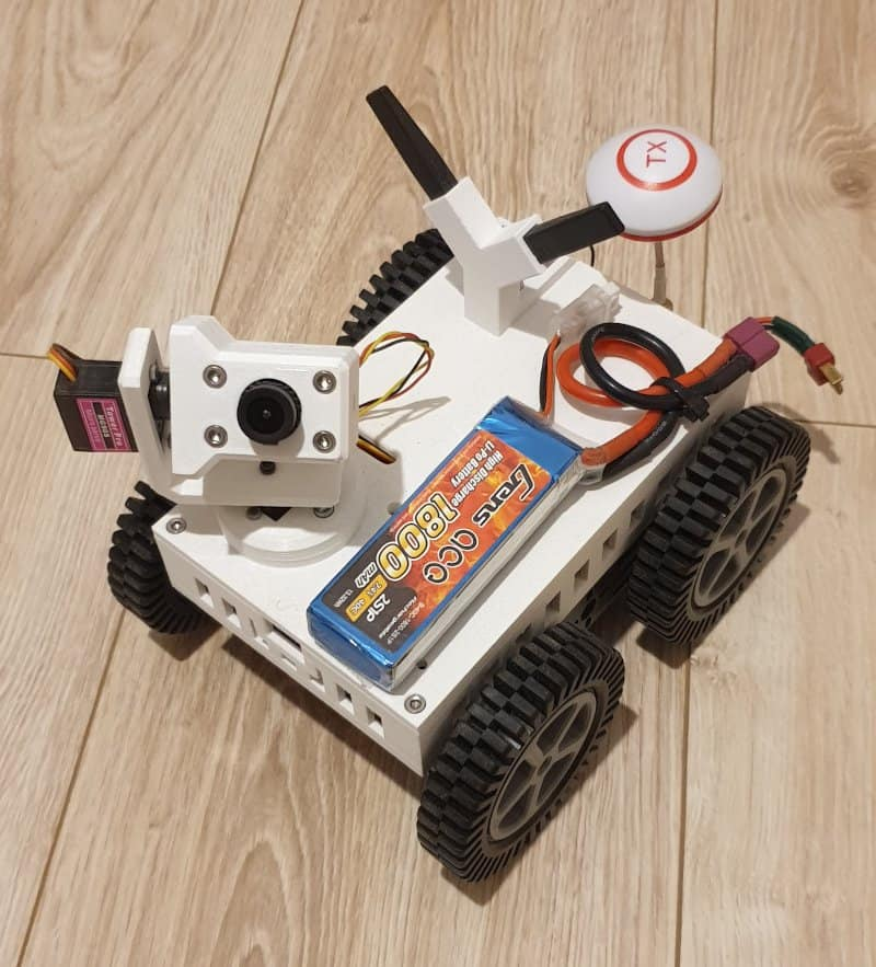 Robot inspekcyjny