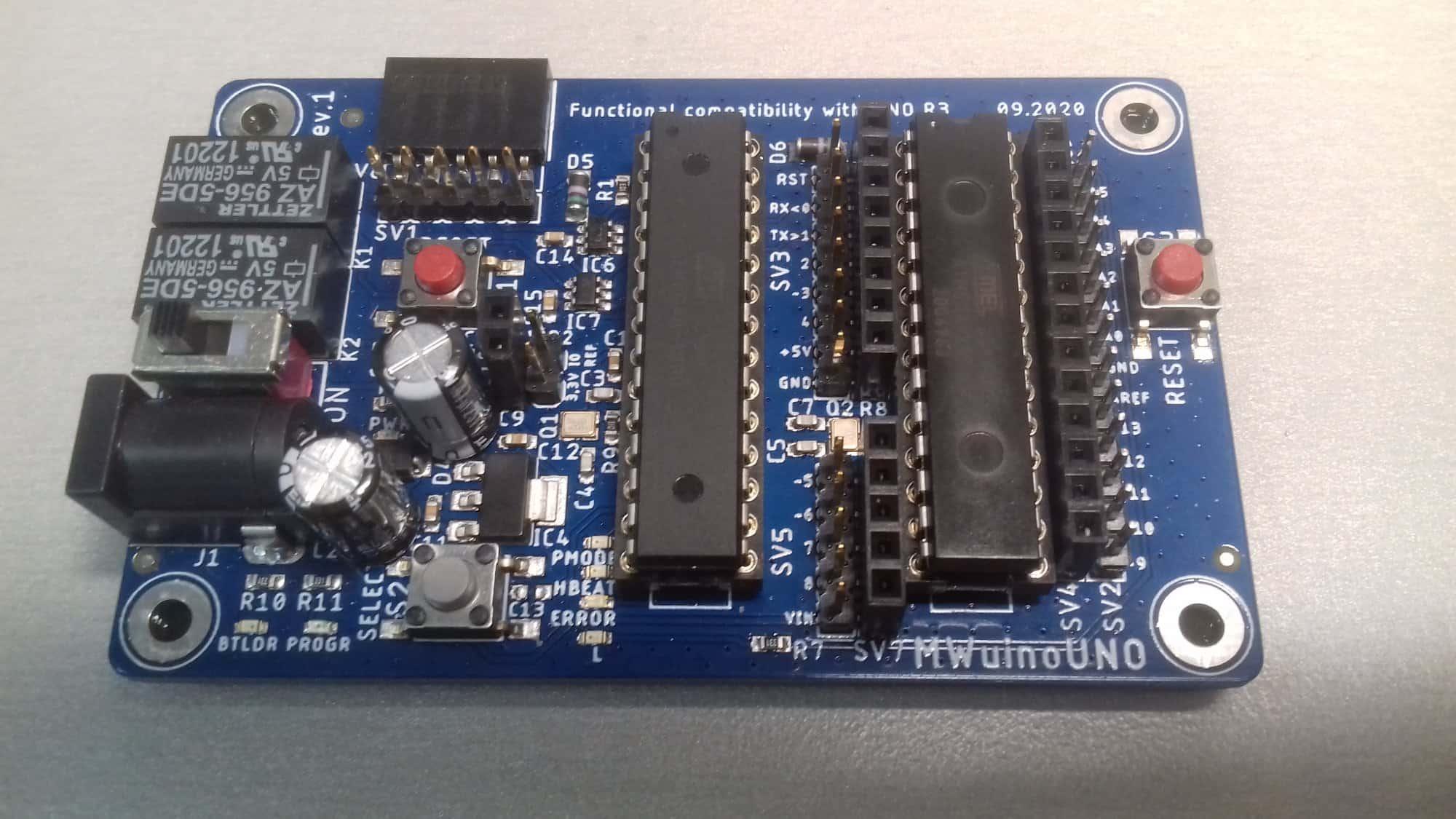 MWuinoUNO-Bootloader programmer i Arduino w jednym!