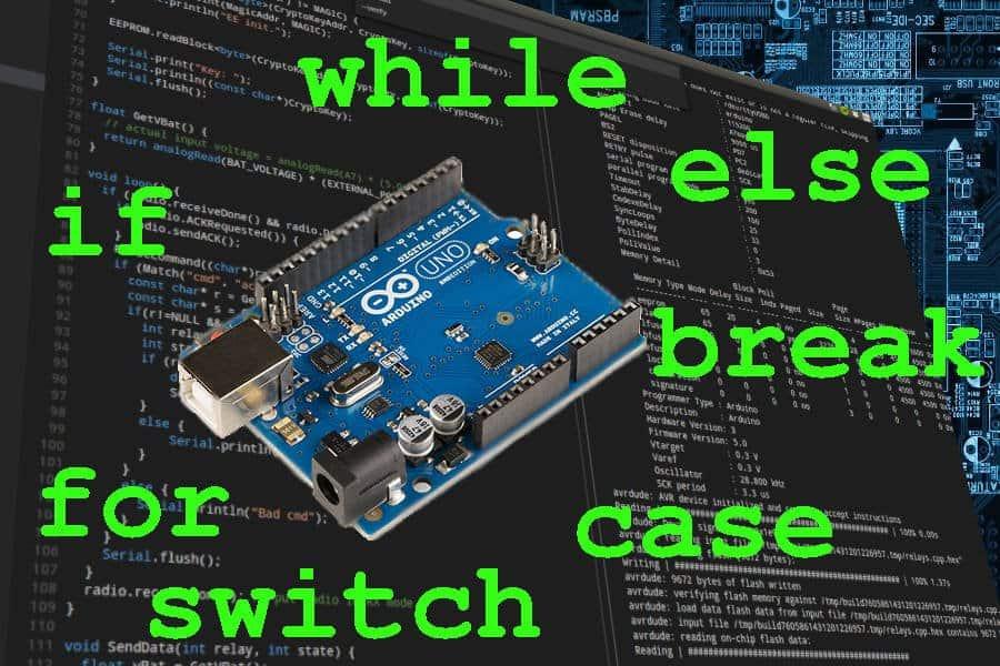 Arduino dla początkujących: instrukcje sterujące w C/C++. Część 3: for, break, switch